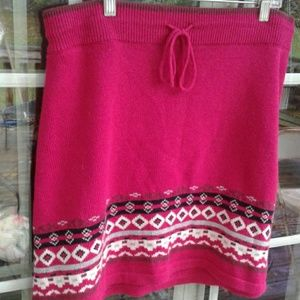 Athleta Knit Mini Sweater Skirt